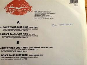 Don't Talk, Just Kiss